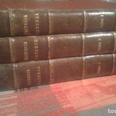 Libros antiguos: HISTORIA NATURAL. TOMOS 2-3 Y 4 - DR. A. E. BREHM - 1880-1881. Lote 104401731