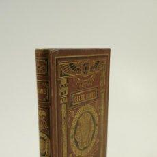 Libros antiguos: LA TIERRA, CELSO GOMIS, 1877, BASTINOS EDITORES, BARCELONA. 13X19CM. Lote 104582339