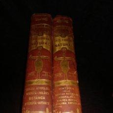 Libros antiguos: HISTORIA NATURAL POR ODON DE BUEN, PRIMERA EDICION.DOS TOMOS. OBRA DE ARTE.. Lote 104666639