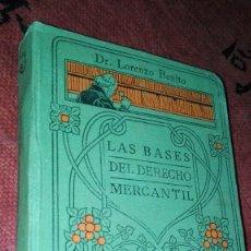 Libros antiguos: MANUALES GALLACH. LAS BASES DEL DERECHO MERCANTIL Nº34. Lote 105192923