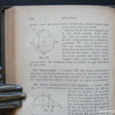 Libros antiguos: CA. 1900 - MATEMÁTICAS - LIBRO ANTIGUO - ALBEGRA - GEOMETRÍA - TRIGONOMETRÍA - ILUSTRADO - FIGURAS. Lote 105378151