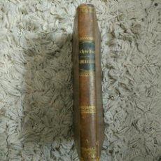 Libros antiguos: ELEMENTOS DE MINERALOGÍA, GEOGNOSIA Y GEOLOGÍA. EL LIBRO DE LA NATURALEZA FEDERICO SCHOEDLER. 1885?. Lote 105808947