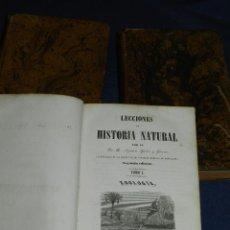 Libros antiguos: (MF) AGUSTIN YAÑEZ Y GIRONA - LECCIONES DE HISTORIA NATURAL ZOOLOGIA, BOTANICA Y MINERALOGIA 1845. Lote 106795035