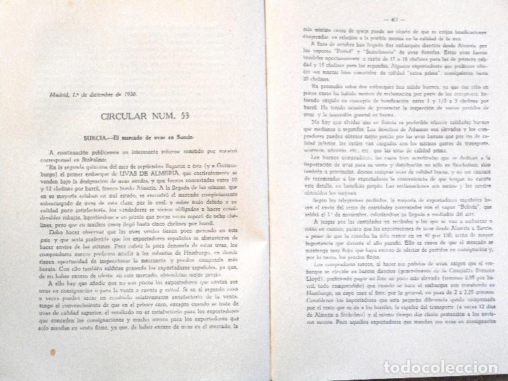 Libros antiguos: UNIÓN NACIONAL DE LA EXPORTACIÓN AGRÍCOLA - ANUARIO DE 1930 - POR SILICEO - Foto 6 - 107129123