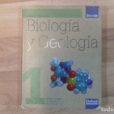 Libros antiguos: BIOLOGÍA Y GEOLOGÍA 1º BACHILLERATO. Lote 107504551