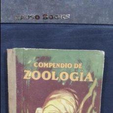Libros antiguos: 1928. MIGUEL S. ESCUDERO. COMPENDIO DE ZOOLOGÍA. SEIX BARRAL. Lote 107991707
