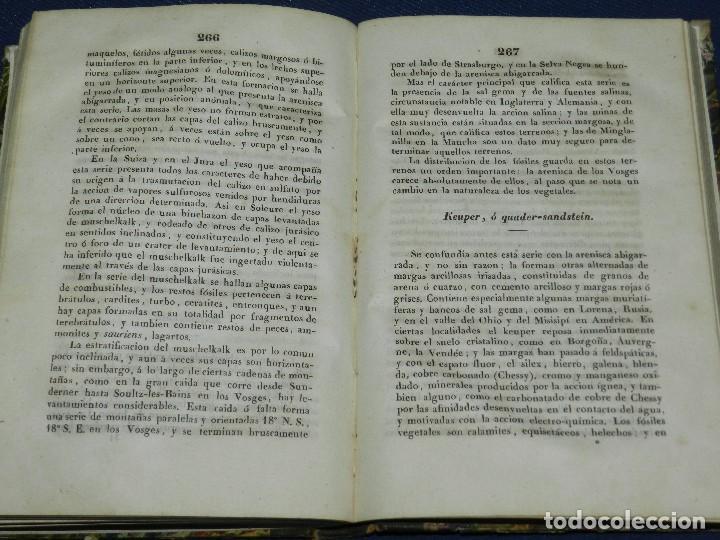 Libros antiguos: (MF) FRANCISCO DE LUXAN - LECCIONES DE GEOLOGIA , MADRID 1841 IMP. EUSEBIO AGUADO - Foto 3 - 108052935
