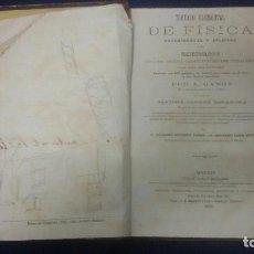 Libros antiguos: TRATADO ELEMENTAL DE FISICA Y DE METEREOLOGÍA - A. GANOT AÑO 1876. Lote 152495885