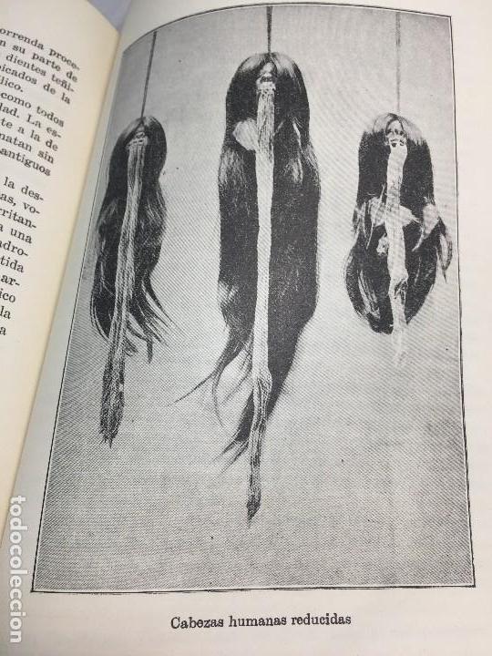 Libros antiguos: Cazadores de Cabezas del Amazonas 1928 7 años exploracion y aventura F W Up de Graff - Foto 2 - 108698319