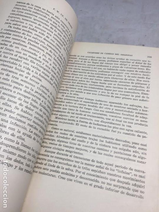 Libros antiguos: Cazadores de Cabezas del Amazonas 1928 7 años exploracion y aventura F W Up de Graff - Foto 5 - 108698319