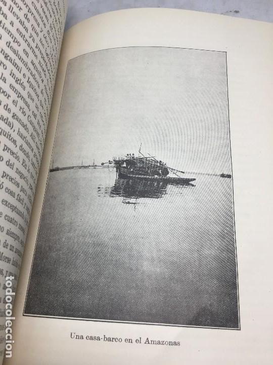 Libros antiguos: Cazadores de Cabezas del Amazonas 1928 7 años exploracion y aventura F W Up de Graff - Foto 8 - 108698319