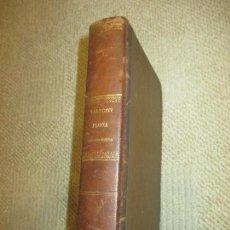 Libros antiguos: FLORA BÍBLICO-POÉTICA, DE JUAN GUALBERTO TALEGÓN, PRIMERA EDICIÓN, 1871 BOTÁNICA, FARMACIA. Lote 108752823