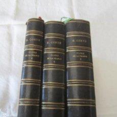Libros antiguos: FLORE DESCRIPTIVA ET ILLUSTRÉE DE LA FRANCE PAR LÁBBE H.COSTE - 1901. Lote 109743871