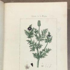 Libros antiguos: ALBUM DE LA FLORA MÉDICO-FARMACÉUTICA E INDUSTRIAL, INDÍGENA Y EXÓTICA, O SEA COLECCIÓN DE LÁMINAS I. Lote 109023192