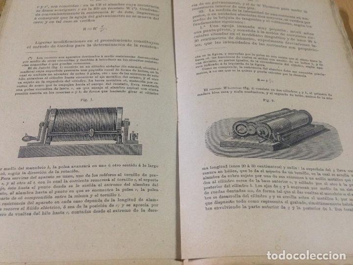 Libros antiguos: COLECCION EJERCICIOS DE FÍSICA MUÑOZ DEL CASTILLO HERNANDO Y CIA MADRID 1901 - Foto 2 - 110272831