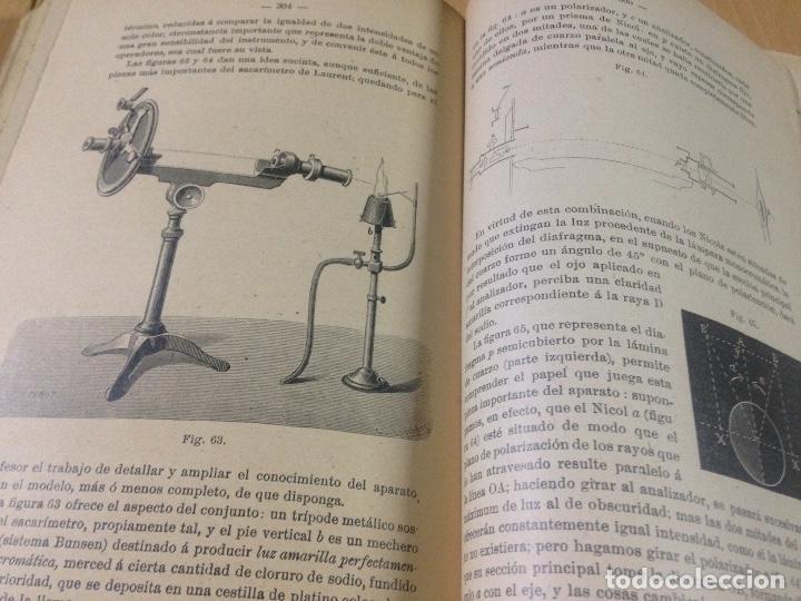 Libros antiguos: COLECCION EJERCICIOS DE FÍSICA MUÑOZ DEL CASTILLO HERNANDO Y CIA MADRID 1901 - Foto 5 - 110272831