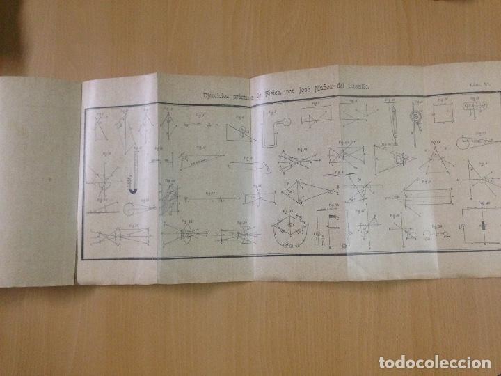 Libros antiguos: COLECCION EJERCICIOS DE FÍSICA MUÑOZ DEL CASTILLO HERNANDO Y CIA MADRID 1901 - Foto 6 - 110272831