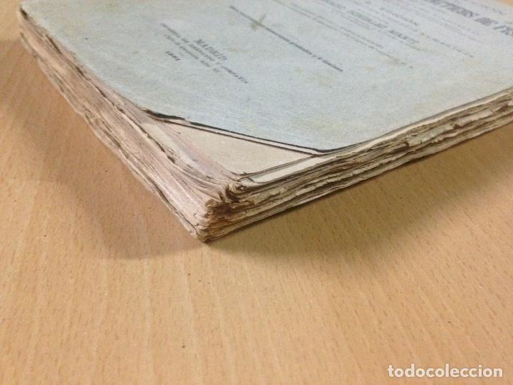 Libros antiguos: COLECCION EJERCICIOS DE FÍSICA MUÑOZ DEL CASTILLO HERNANDO Y CIA MADRID 1901 - Foto 8 - 110272831