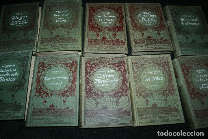 ENCICLOPEDIA AGRÍCOLA, 10 TOMOS SIGLO XX-CONSERVAS,MAQUINAS,VITICOLA...G.WERY (Libros Antiguos, Raros y Curiosos - Ciencias, Manuales y Oficios - Bilogía y Botánica)