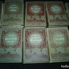 Libros antiguos: ENCICLOPEDIA AGRÍCOLA, 10 TOMOS SIGLO XX-CONSERVAS,MAQUINAS,VITICOLA...G.WERY. Lote 110448699