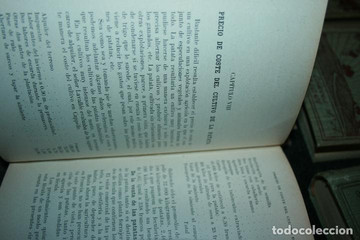 Libros antiguos: Enciclopedia agrícola, 10 tomos siglo XX-conservas,maquinas,viticola...G.Wery - Foto 3 - 110448699