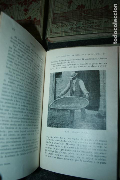 Libros antiguos: Enciclopedia agrícola, 10 tomos siglo XX-conservas,maquinas,viticola...G.Wery - Foto 5 - 110448699