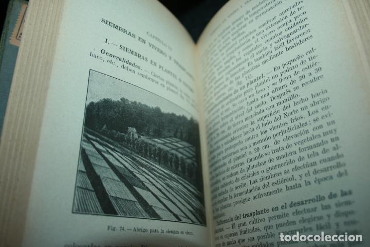 Libros antiguos: Enciclopedia agrícola, 10 tomos siglo XX-conservas,maquinas,viticola...G.Wery - Foto 15 - 110448699