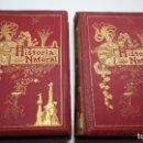 Libros antiguos: HISTORIA NATURAL POR ODON DE BUEN, PRIMERA EDICION.DOS TOMOS. Lote 110496215