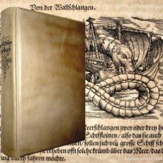 Libros antiguos: AÑO 1600/1606/1613 HISTORIA NATURAL DE GESNER 380 ILUSTRACIONES - BESTIARIO CASI MEDIEVAL. Lote 110648247