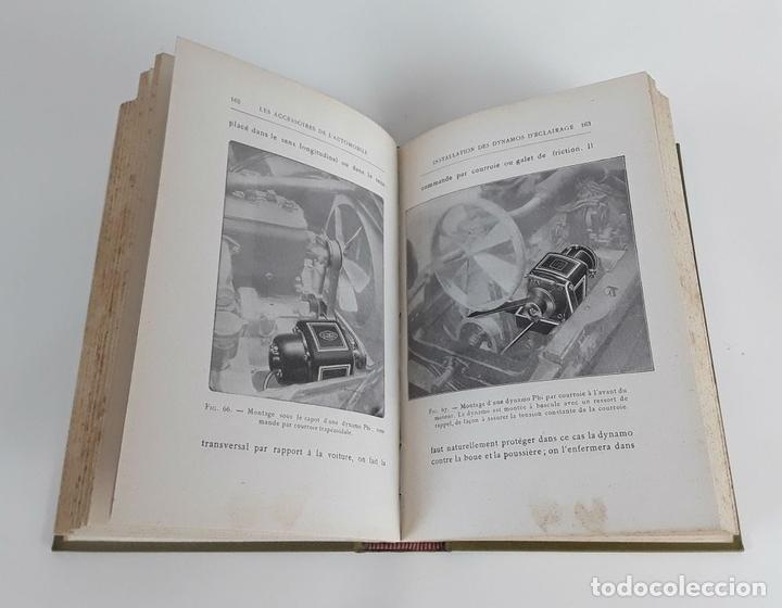 Libros antiguos: LES ACCESSOIRES DE LAUTOMOBILE. F. CARLÈS. H. DUNOD ET E. PINAT ED. 1913. - Foto 4 - 110895235