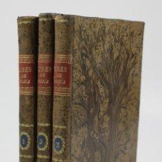 Libros antiguos: TRATADO DE FÍSICA COMPLETO Y ELEMENTAL, ANTONIO LIBES, 1821, 3 TOMOS, BARCELONA. 14,5X21CM. Lote 110957263