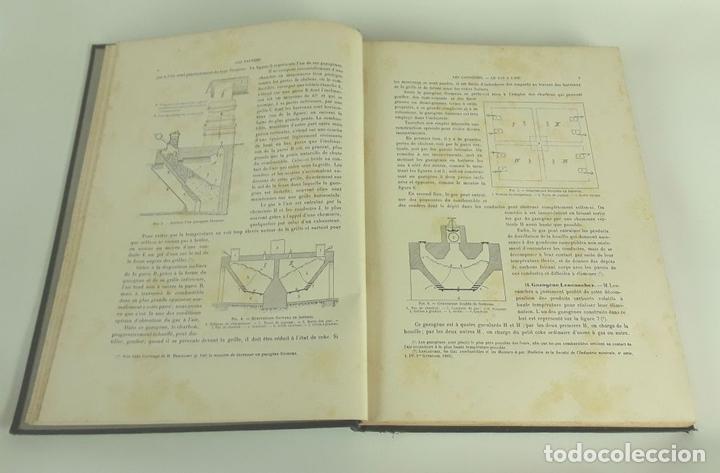Libros antiguos: PRODUCTION ET UTILISATION DES GAZ PAUVRES. L. MARCHIS. H DUNOD ET E PINAT. 1918. - Foto 3 - 110958983