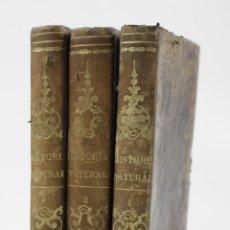 Libros antiguos: ELEMENTOS DE HISTORIA NATURAL, MILNE EDWARDS Y AQUILES COMTE, 1846, 3 TOMOS, BARCELONA. 13X19CM. Lote 111216407