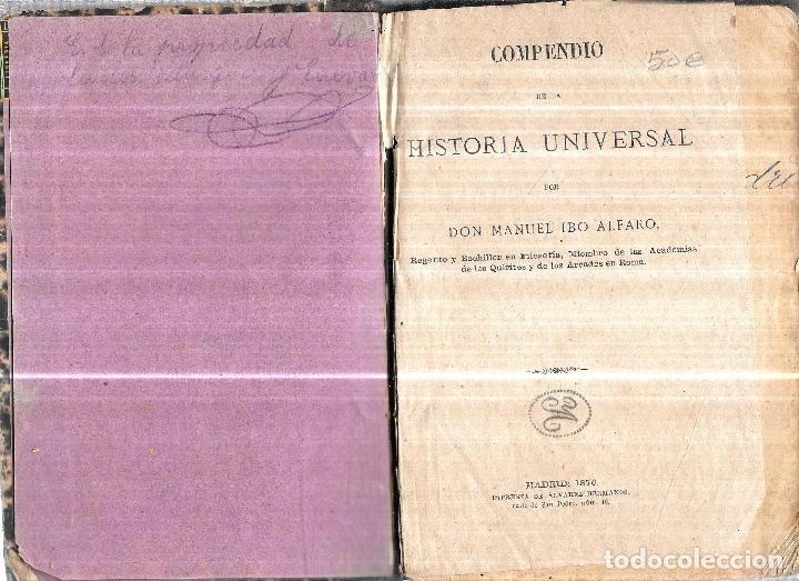 Libros antiguos: COMPENDIO DE ARITMETICA Y ALGEBRA. R. SANJURJO. 1877. ADOLFO RODRIGUEZ. - Foto 5 - 111660871