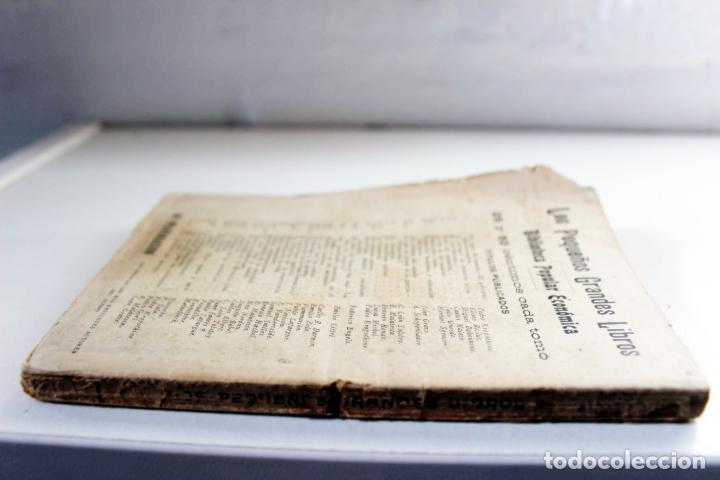 Libros antiguos: Las facultades mentales en el hombre y en los animales. Carlos Darwin. Ed. Presa. ca 1905 Biología - Foto 2 - 111873951