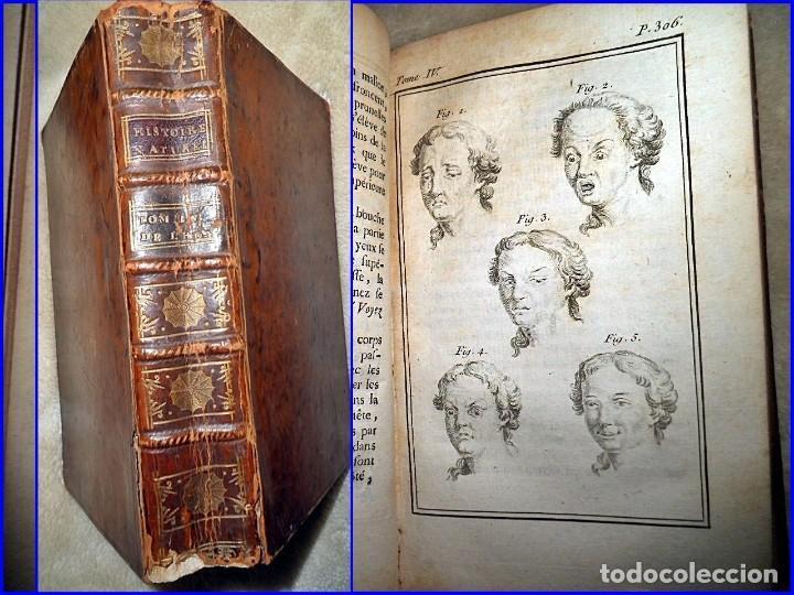 AÑO 1774: LIBRO DEL SIGLO XVIII CON CURIOSA IMAGEN DE ESTADOS DE ÁNIMO. BUFFÓN (Libros Antiguos, Raros y Curiosos - Ciencias, Manuales y Oficios - Bilogía y Botánica)