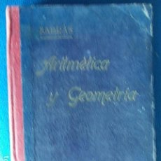 Libros antiguos: ARITMÉTICA Y GEOGRAFÍA AMÓS SEXTA EDICIÓN 1931. Lote 112501399
