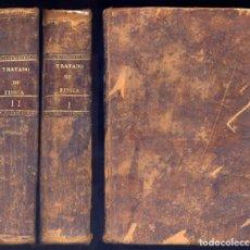 DESPRETZ, César. Tratado Elemental de Física. Trad. y aumen. por Francisco Alvarez. Dos vols. 1839.