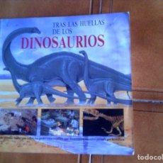 Libros antiguos: LIBRO TRAS LAS HUELLAS DE LOS DINOSAURIOS ,DR MICHAEL J,BENTON . Lote 112797975
