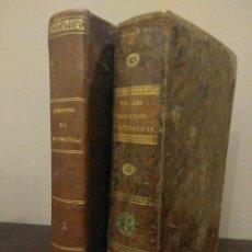 Libros antiguos: COMPENDIO DE MATEMÁTICAS PURAS Y MIXTAS - TOMOS I-II - JOSE MARIANO VALLEJO - MADRID 1840. Lote 112890843
