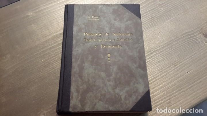 PRINCIPIOS DE AGRICULTURA. TÉCNICA AGRÍCOLA E INDUSTRIAL Y ECONOMÍA.BARTOLOME DARDER PERICÁS (Libros Antiguos, Raros y Curiosos - Ciencias, Manuales y Oficios - Bilogía y Botánica)