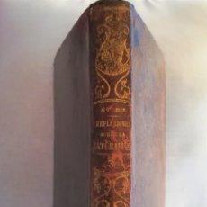 Libros antiguos: ANTIGUO LIBRO,REFLEXIONES SOBRE LA NATURALEZA, AÑO 1852,SIGLO XIX,ELEFANTE,TIGRE,PANTERA,MONO,LEON. Lote 113010315