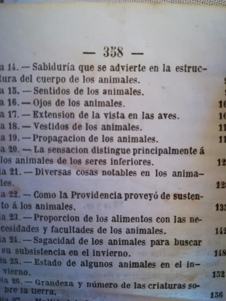 Libros antiguos: ANTIGUO LIBRO,REFLEXIONES SOBRE LA NATURALEZA, AÑO 1852,SIGLO XIX,ELEFANTE,TIGRE,PANTERA,MONO,LEON - Foto 6 - 113010315