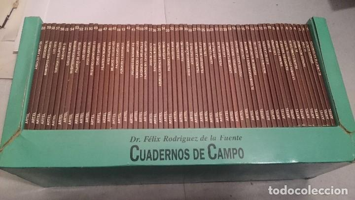 CUADERNOS DE CAMPO DEL DR. FELIX RODRIGUEZ DE LA FUENTE COL. COMPLETA (Libros Antiguos, Raros y Curiosos - Ciencias, Manuales y Oficios - Bilogía y Botánica)