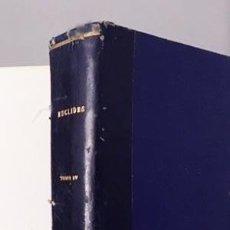 Libros antiguos: EUCLIDES. AÑO COMPLETO 1944. (REVISTA DE CIENCIAS EXACTAS, FÍSICAS, QUÍMICAS Y NATURALES) 872 PÁGS. . Lote 113244759