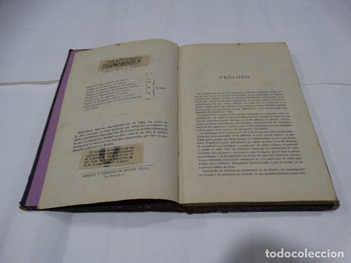 Libros antiguos: ARITMÉTICA -1890- J. CORTAZAR - Foto 3 - 113941199
