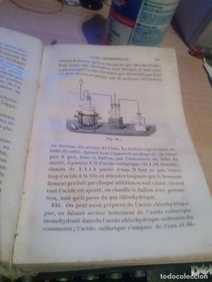 Libros antiguos: Précis d´analyse chimique quantitative GERHARDT, Ch., CHANCEL, G. Victor Másson Paris 1867 - Foto 2 - 114313611
