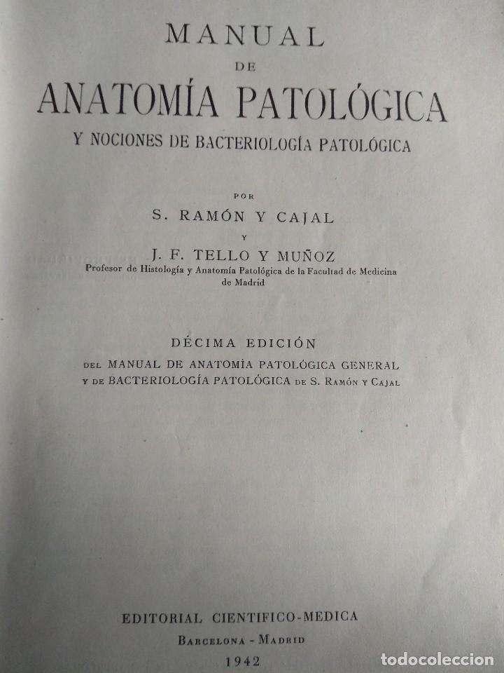 ramón y cajal, tello y muñoz. manual de anatomí - Comprar Libros ...