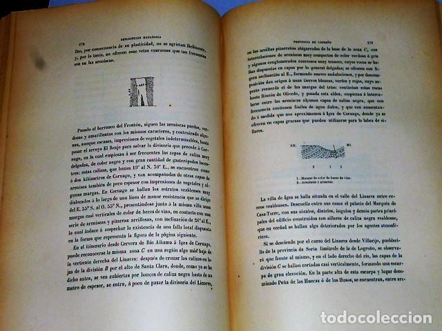 Libros antiguos: DESCRIPCIÓN FÍSICA, GEOLÓGICA Y MINERA DE LA PROVINCIA DE LOGROÑO - Foto 9 - 114683227