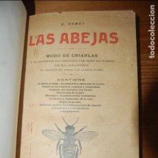 Libros antiguos: LAS ABEJAS. H. HAMET. 1915. Lote 114695055